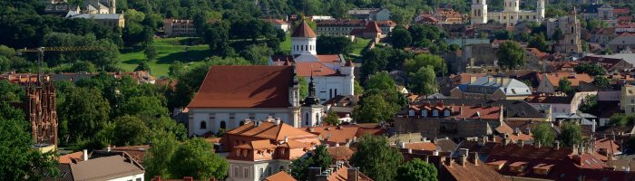 Virtual tour around Vilnius
