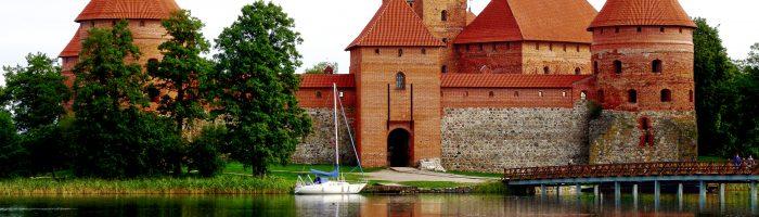 Admire Trakai island castle