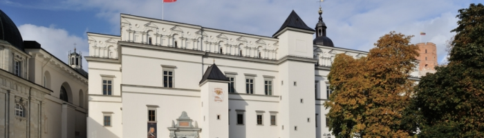 Take a walk in The Palace of the Grand Dukes of Lithuania